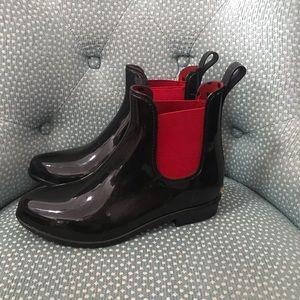 Ralph Lauren Rubber Ankle Boots Woman's 8